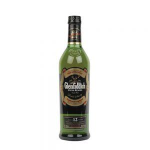 Whisky Glenfiddich Single Malt 12 años Scotch 70 cl.