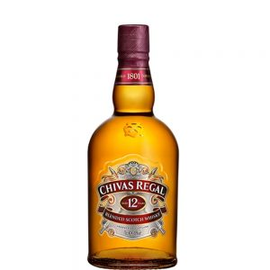 Whisky Chivas Regal 12 años Blended Scotch 70 cl.