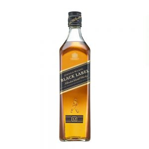 Whisky Johnnie Walker Black Label 12 años Blended Scotch 70 cl.