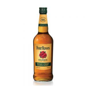 Whiskey Four Roses bourbon Kentuky 70 cl.